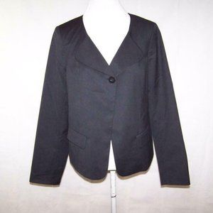 Pendleton Womens Blazer Jacket 14 One Button Black
